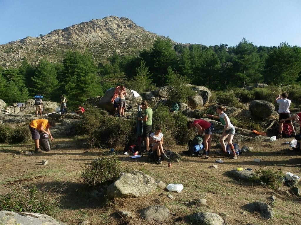 Route Corsica bivacco selvaggio
