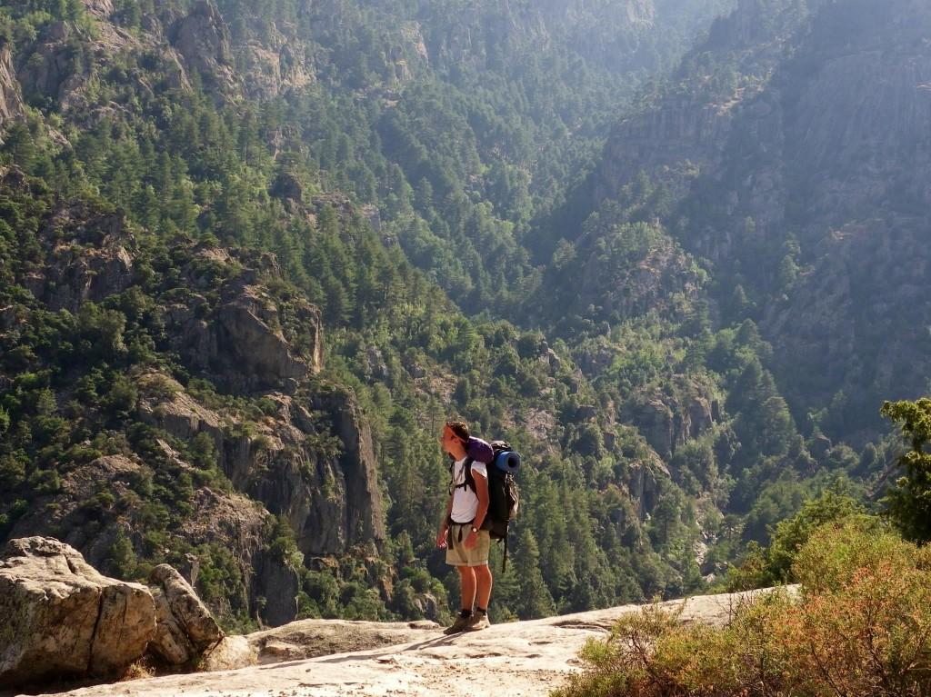 Route Corsica gole